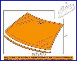 07 14 VW Jetta Golf Windshield Glass TINTED 1K5845011BB Sku P3-79