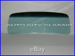 1948 1952 Ford Panel Truck Glass Windshield Vent Door Rear Back Set Green Tint