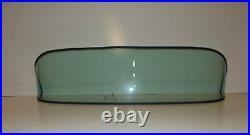 1953 1954 Chev 4 Door Sedan Glass Windshield Vent Doors Rear Back Green Tint
