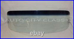 1957 1958 Ford Ranchero Glass Windshield Vent Door Rear Back Original Green Tint