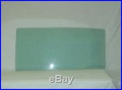 1959 1960 Chev 2 Door Sedan Glass Windshield Vent Door Quarter Set Green Tint