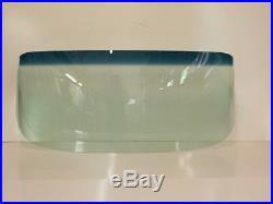 1959 1960 Chev El Camino Glass Windshield Vent Door Rear Back Set Green Tint
