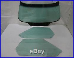 1968-1972 Corvette Convertible Glass Tint Shade Windshield Original Green Door