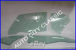 1970 1971 1972 Chevelle Windshield Door Quarter Glass Convertible Green Tint