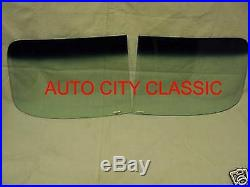 48-53 Hudson Green Tint and Shade Band 2 Piece Windshield