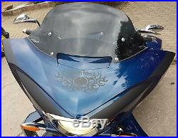 AJ Baggers NEW Aero Dark Tinted Windshield 12 for Victory Cross Country