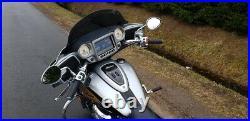 AJ Baggers NEW Aero Dark Tinted Windshield 15 for Indian Chieftain, Roadmaster