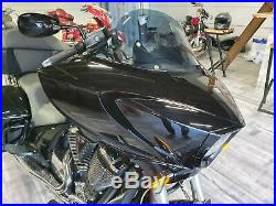 AJ Baggers NEW Aero Light Tinted Windshield 12 for Victory Cross Country
