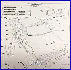 Aston Martin Dbs, Dbs V8 & Am V8 Front Tinted Windscreen Glass 76-14018