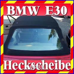 BMW E30 Convertible Rear Windscreen Canopy Window Be Green Tinted