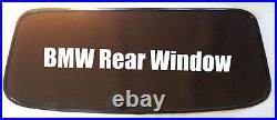 BMW E36 CONVERTIBLE REAR WINDSCREEN in Black Tinted Hood WINDOW TINT