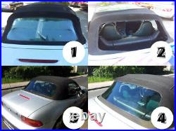 BMW Z3 Convertible Rear Windscreen Green Tint Review Window Roadster PVC Wopavin