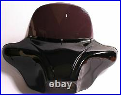 Batwing Fairing 8 Tinted Windshield Painted 4 Harley Touring Road King Glide