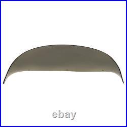 Boat Windshield 28 1/2 Inch Smoke Tint Plexiglass