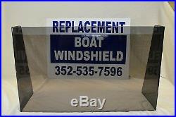 Boat windshield 33, 1/4 premium tinted plexiglass