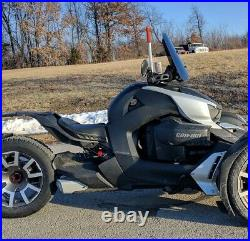Calsci Tinted Shorty 16 Windshield for CanAm Ryker 600, 900, Rally