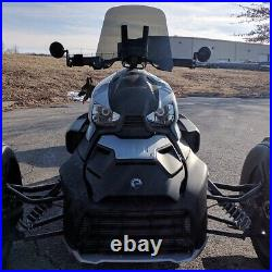 Calsci Tinted Shorty Windshield for Can Am BRP Ryker 2019-2021