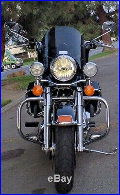 Calsci Tinted Shorty Windshield for Harley Road King Special FLHRXS