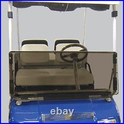 Club Car DS (82-00.5) Tinted Folding Golf Cart Windshield US Made