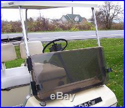 Club Car DS Tinted Windshield'82-'00.5 High Quality Golf Cart Folding Acrylic
