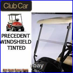 Club Car Precedent Golf Cart Hinged Fold Down Windshield TINTED (Free Shipping)