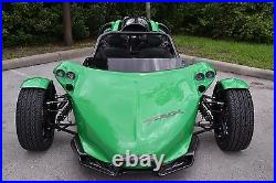 DARK Tinted Short Replacement Campagna T-Rex Wind Deflector Fits All Years