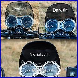 DART FLYSCREEN TRIUMPH THRUXTON R 1200 Speed Twin 2016+ Midnight Tint windshield