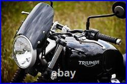 DART FLYSCREEN Windshield TRIUMPH STREET TWIN Dark Tint STW01D