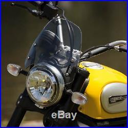 Ducati Scrambler Dart Classic Flyscreen in Light Tint