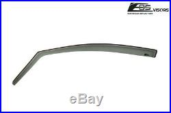 EOS Visors For 11-17 Honda Odyssey JDM IN-CHANNEL Smoke Tinted Window Deflectors