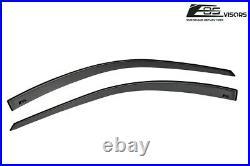 EOS Visors For 94-01 Acura Integra 3Dr DC2 JDM Tape-On Side Window Rain Guards