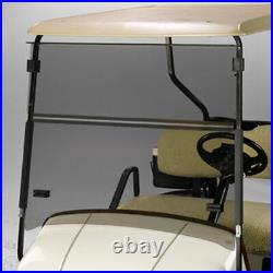EZGO Express S6/L6 Short Top Tinted Golf Cart Folding Windshield US Made