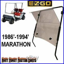 EZGO Marathon 1986'-1994' Golf Cart Fold Down Windshield TINTED