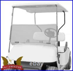 EZGO Marathon Golf Cart ALL AMERICAN Folding Flip Windshield Tinted/Clear