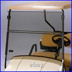 EZGO ST Sport 2+2 Tinted Fold Down Golf Cart Windshield US Made