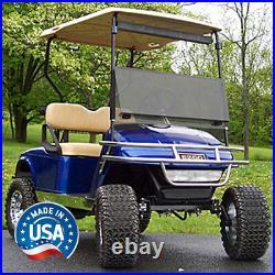 EZGO TXT (94.5-13) Tinted Fold Down Golf Cart Windshield US Made
