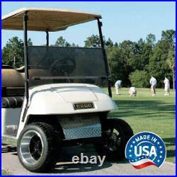 EZGO TXT (94.5-13) Tinted Impact Modified Fold Down Golf Cart Windshield