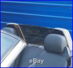 Fit Z4 02-08 E85 Windscreen Wind Deflector tinted- mirror- engraved windschott