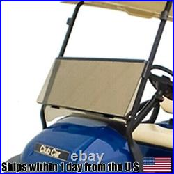 Fold Down Windshield for Club Car Precedent 2004-Up Golf Carts Tinted