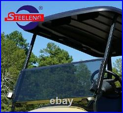Foldable Tinted Windshield for Club Car Precedent Golf Cart
