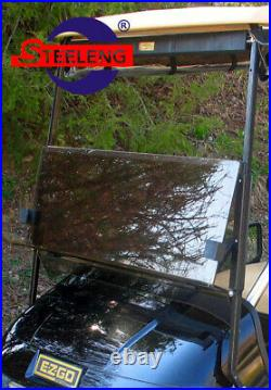 Foldable Tinted Windshield for EZGO TXT Golf Cart (1994-2013)