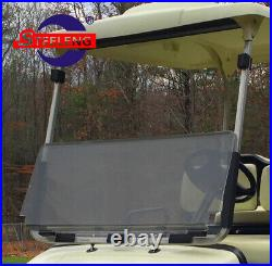 Foldable Tinted Windshield for YAMAHA G22 Golf Cart