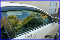 For 02-06 Acura RSX Integra DC5 Smoke Tinted JDM Side Window Visors Rain Guard