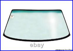 Front Windshield Glass, Green Top Tint, Aftermarket, Porsche 928 (78-95)