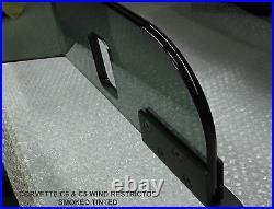 GM Lic. Wind Deflector Blocker Windscreen Windstop Breaker Tinted Graphics NICE