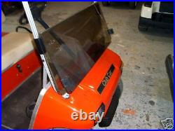 GOLF CART flip Windshield TINTED OR CLEAR FOR CLUB CAR ds 82-99