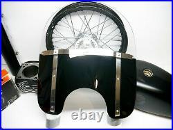 Genuine OEM 94-20 Harley Davidson Road King Detachable Windshield Half Tinted