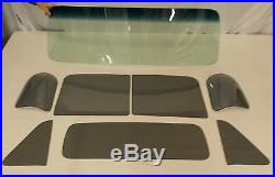 Glass 1954 Chevy Pickup Tint Shade Windshield Grey Vent Door 3 Piece Back Set