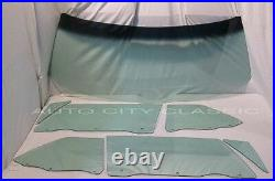 Glass 1966 Convertible Buick Chev Olds Pontiac Windshield Sides Green Tint