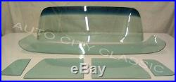 Glass Green Tint 1955 1959 Chevy GMC Pickup Windshield Vent Door Deluxe Back